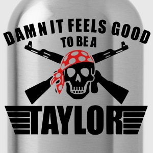 Damn It Feels Good To Be A Taylor T-Shirts - stayflyclothing.com  - Water Bottle