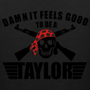 Damn It Feels Good To Be A Taylor T-Shirts - stayflyclothing.com  - Men's Premium Tank