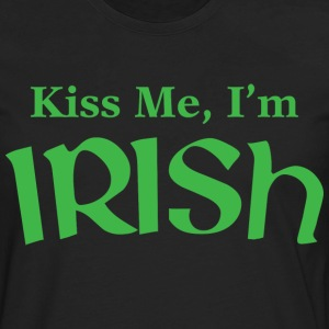 Kiss Me, I'm Irish - Men's Premium Long Sleeve T-Shirt