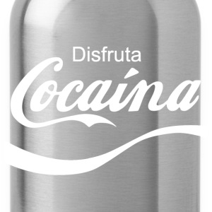 Disfruta Cocaina T-Shirts - Water Bottle