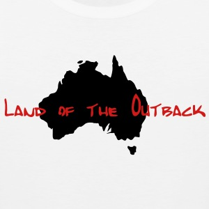 land_of_the_outback T-Shirts - Men's Premium Tank