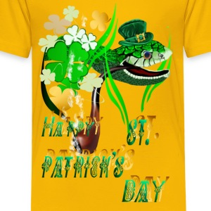 Irish Snake and Well Wishes - Toddler Premium T-Shirt