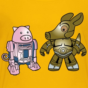 Star Wars: Squiggly and Aardvark - Toddler Premium T-Shirt