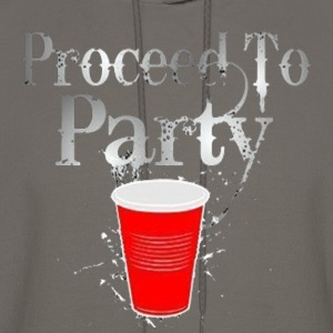 Proceed to party - Men's Hoodie