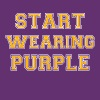 Start Wearing Purple Tee T-Shirts - Men's Premium T-Shirt