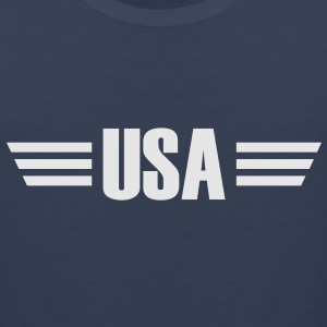 USA T-Shirt - Men's Premium Tank