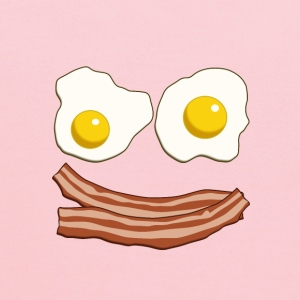 Bacon and Eggs - Kids' Hoodie