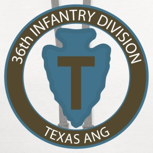 36th Infantry Texas ANG T-Shirts - Contrast Hoodie