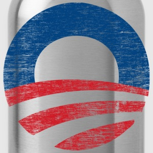 Vinatge Obama 2012 Logo - Water Bottle