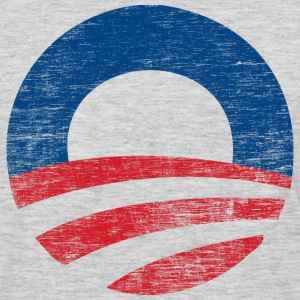 Vinatge Obama 2012 Logo - Men's Premium Long Sleeve T-Shirt