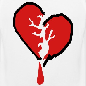 Bleeding Heart T-Shirts - Men's Premium Tank