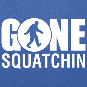 Gone Squatchin navy - Tote Bag