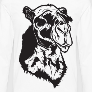 Camel - HD Design T-Shirts - Men's Premium Long Sleeve T-Shirt