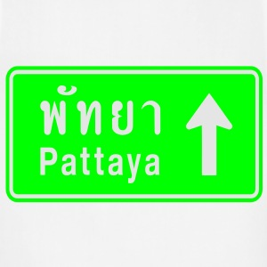 Pattaya, Thailand / Highway Road Traffic Sign - Adjustable Apron