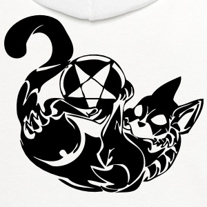 darr cat witch T-Shirts - Contrast Hoodie
