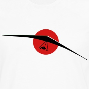 HANGGLIDER COMING red sun T-Shirts - Men's Premium Long Sleeve T-Shirt