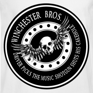 Winchester Bros Driver picks the music shotgun shu T-Shirts - Men's Long Sleeve T-Shirt