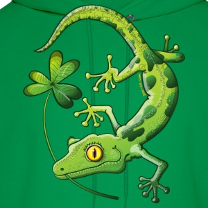 Saint Patrick's Day Gecko T-Shirts - Men's Hoodie