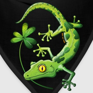 Saint Patrick's Day Gecko Kids' Shirts - Bandana