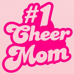#1 cheer mom number one T-Shirts - Kids' Hoodie