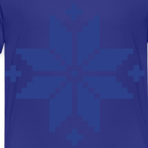 Norwegian pattern star Kids' Shirts - Toddler Premium T-Shirt