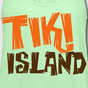 TIKI ISLAND T-Shirts - Women's Flowy Tank Top by Bella
