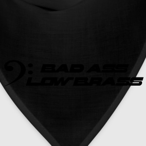 bad ass low brass T-Shirts - Bandana