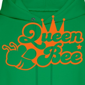 Queen bee ornate with cute little insect and a princess crown T-Shirts - Men's Hoodie