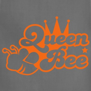 Queen bee ornate with cute little insect and a princess crown T-Shirts - Adjustable Apron