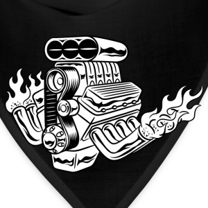 Hot Rod HD Design T-Shirts - Bandana