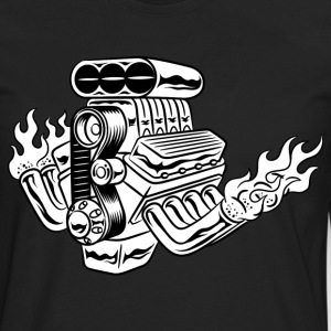 Hot Rod HD Design T-Shirts - Men's Premium Long Sleeve T-Shirt