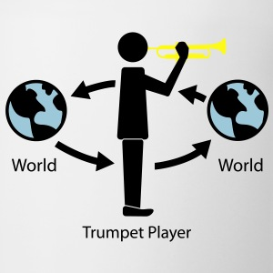 Trumpet and the wrold T-Shirts - Coffee/Tea Mug