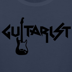 guitarist Plus Size - Men's Premium Tank