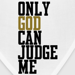 Only God Can Judge T-Shirts - Bandana