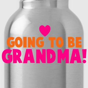 GOING TO BE GRANDMA grandmother shirt T-Shirts - Water Bottle