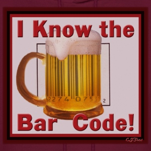 I Know the Bar Code (Mug) - Men's Hoodie