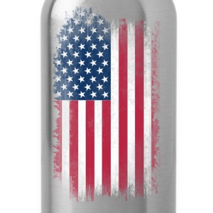 US Flag T-Shirts - Water Bottle
