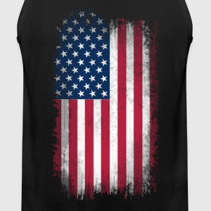 US Flag T-Shirts - Men's Premium Tank