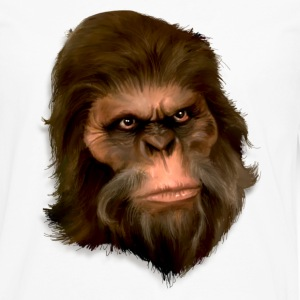 Bigfoot Digital Painting (Color) - Men's - Men's Premium Long Sleeve T-Shirt