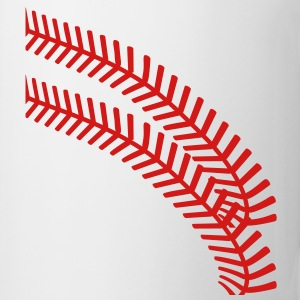 baseball seams T-Shirts - Coffee/Tea Mug