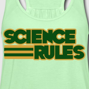 Science Rules - Women's Flowy Tank Top by Bella