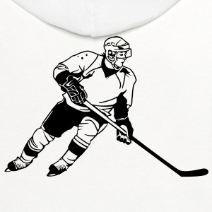 Hockey HD VECTOR T-Shirts - Contrast Hoodie
