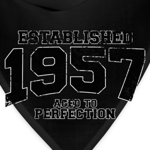 established_1957 T-Shirts - Bandana