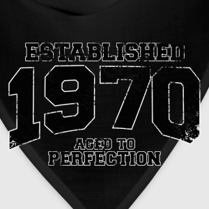 established_1970 T-Shirts - Bandana