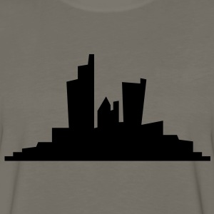 simple city landscape Kids' Shirts - Men's Premium Long Sleeve T-Shirt