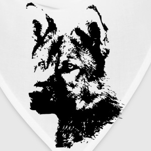 german sheperd dog T-Shirts - Bandana
