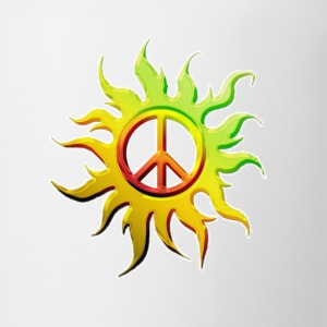 Sun Peace Tee - Coffee/Tea Mug