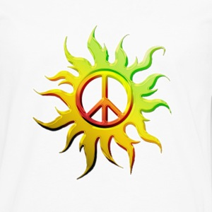 Sun Peace Tee - Men's Premium Long Sleeve T-Shirt