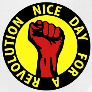 3 colors - nice day for a revolution Working Class T-Shirts - Bandana