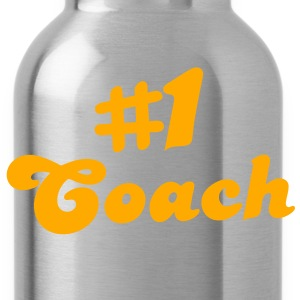 number # 1coach T-Shirts - Water Bottle